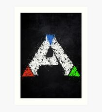 Ark Survival Evolved Colored Art Print