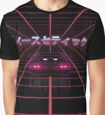80s RETRO VAPORWAVE RETROWAVE SYNTHWAVE Graphic T-Shirt