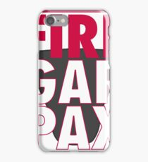 Fire Garpax iPhone Case/Skin
