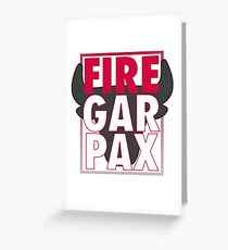 Fire Garpax Greeting Card