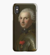 Portrait of a Man in Armour 1750 Jean-Marc Nattier iPhone Case/Skin