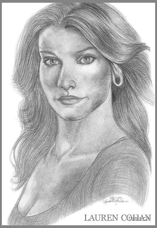 Lauren Cohan by teelecki