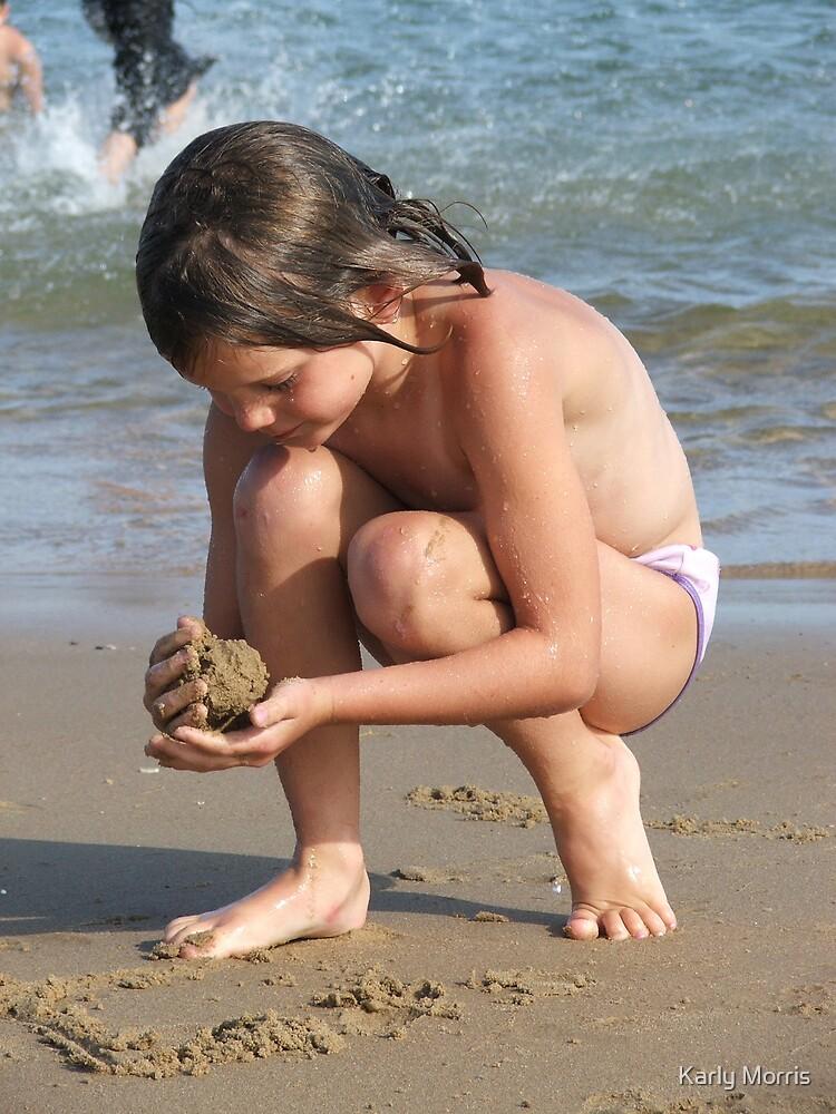 Beach babe by Karly Morris