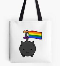 Gay Pride Cat Tote Bag