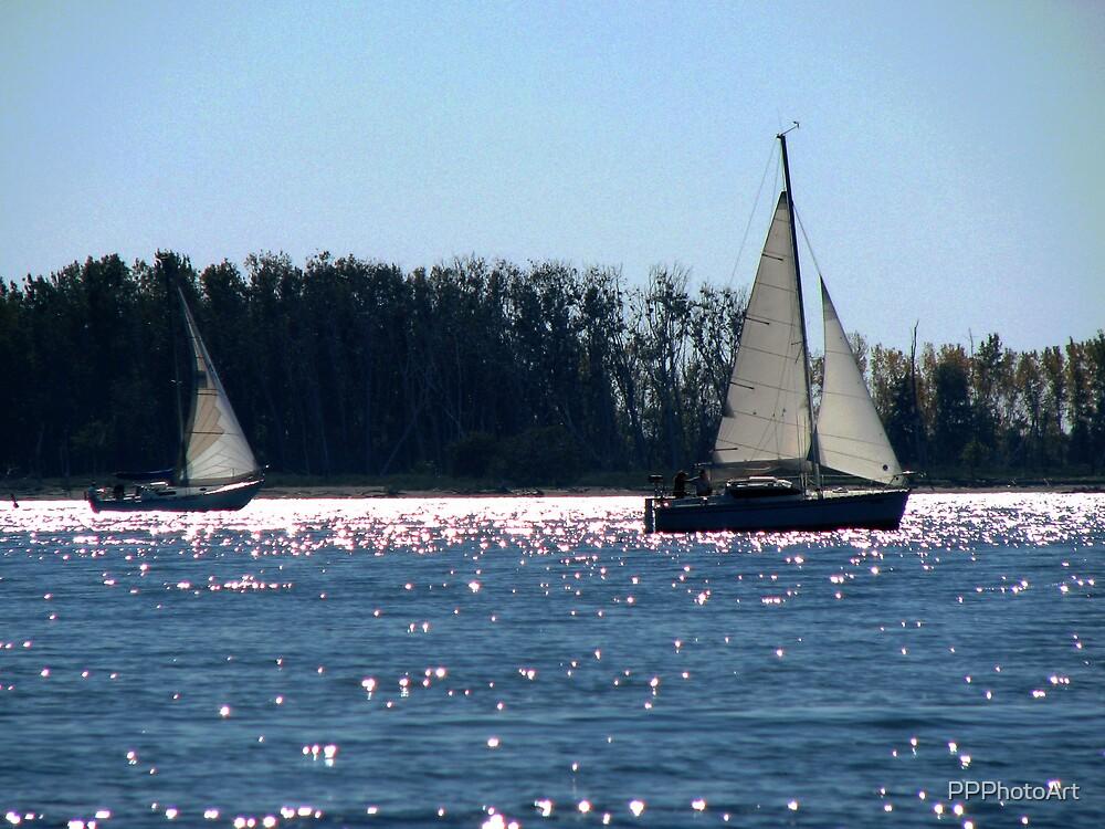 Sailboats by PPPhotoArt