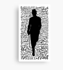 Everybody Knows Canvas Print