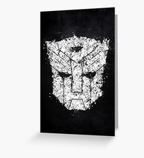 Transformers - Autobot  Greeting Card