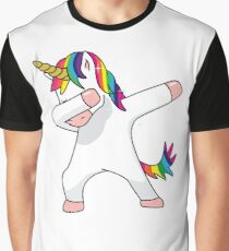 Unicorn Dab Shirt Dabbing Funny Magic Hip Hop T-Shirt For Men, Women, and Kids Graphic T-Shirt
