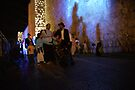 Audio visual show on the walls of Jerusalem by Moshe Cohen