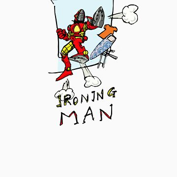 Ironing Man by moonbug