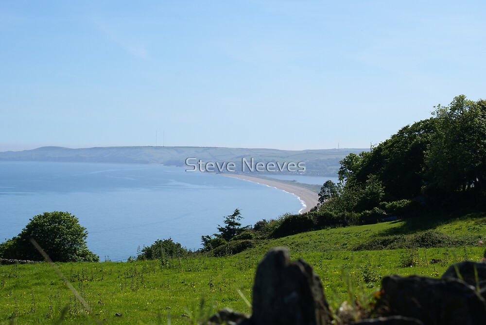 blackpool sands devon  by Steve Neeves