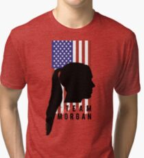 TEAM MORGAN Tri-blend T-Shirt