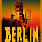 Gedächtniskirche in Berlin Germany by fuxart