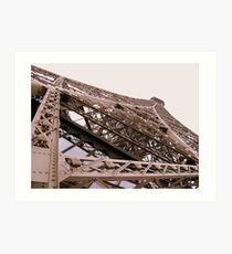 Eiffel Angle Art Print