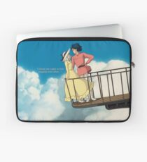 Happily Ever After - Howl's Moving Castle - Studio Ghibli Laptop Sleeve