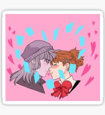 Kissy Sticker