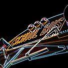 Neon bus by funkymarmalade