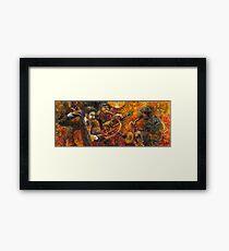 Jazz.Trio. Framed Print