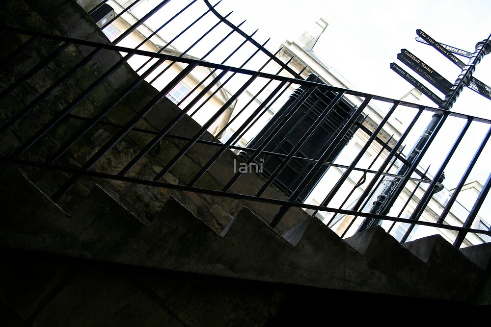 Stairs in Bath by Iani