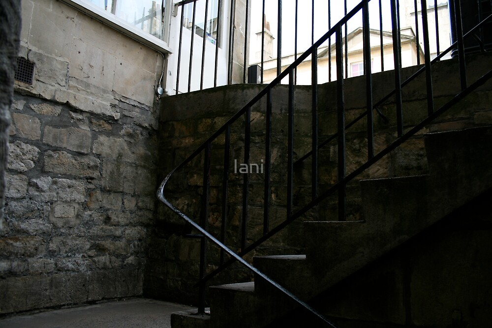 Stairs in Bath 2 by Iani
