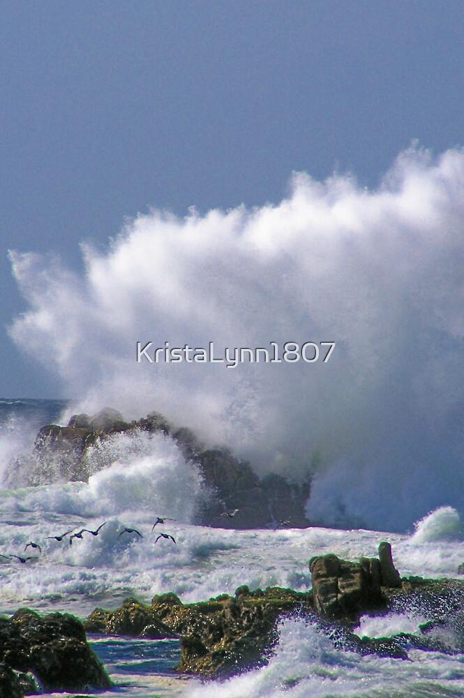 Big Wave At Monterey California by KristaLynn1807