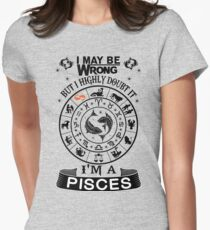 I AM A PISCES Women's Fitted T-Shirt