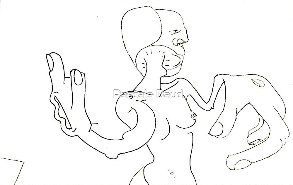 Petits Dessins Debiles - Small Weak Drawings#28 by Pascale Baud