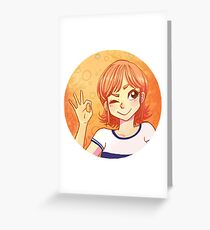 Nami Greeting Card