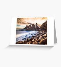 The Pinnacles at Cape Woolamai Greeting Card