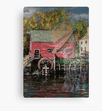 The Old Miller Canvas Print