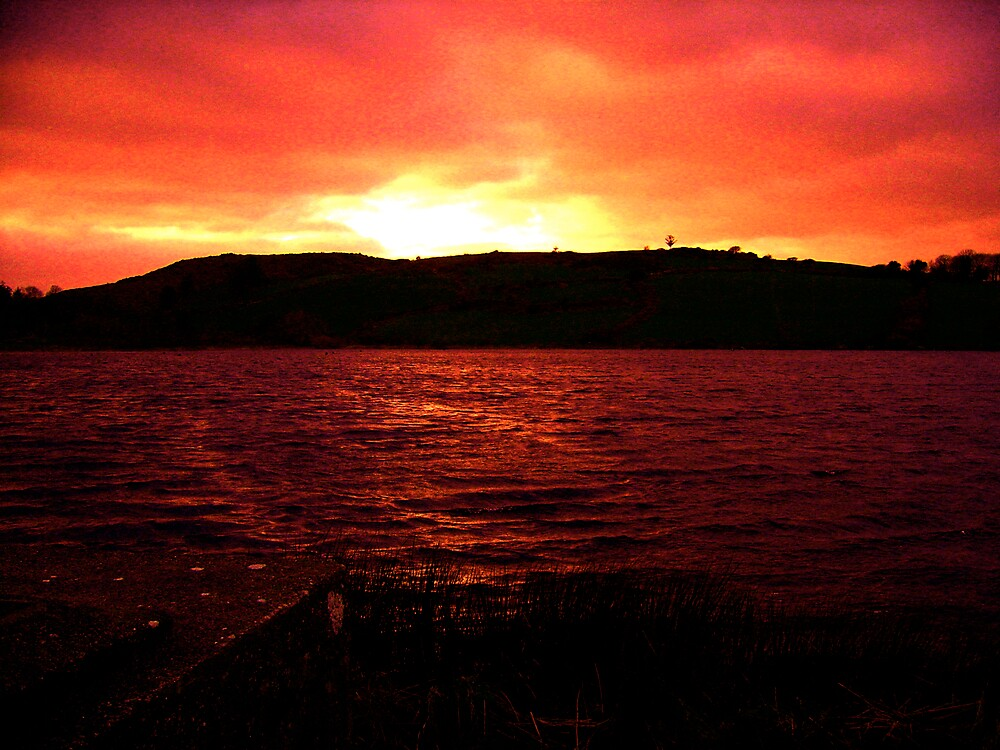 Fire in Autumn by EdelPankhurst