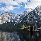 Hallstatt in Austrian Alps at Spring by badamg