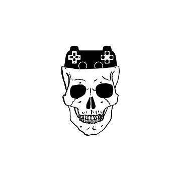 Hardcore Gamer - Even Till Death I still Think of Gaming by i2studio