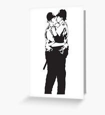 Kiss Police Greeting Card