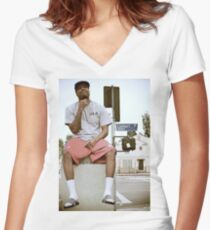 Dom Kennedy Women's Fitted V-Neck T-Shirt