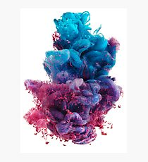 Dirty Sprite 2 - DS2 on white background Photographic Print