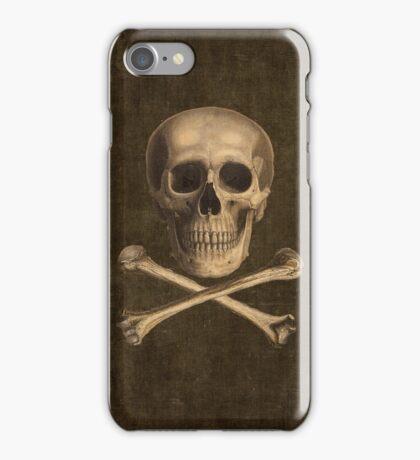 Vintage Crossbones iPhone Case/Skin