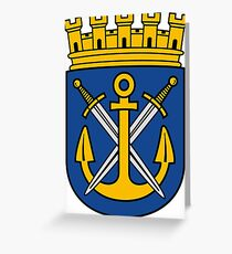 Solingen coat of arms Greeting Card