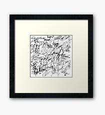 Celebs Autographs Framed Print