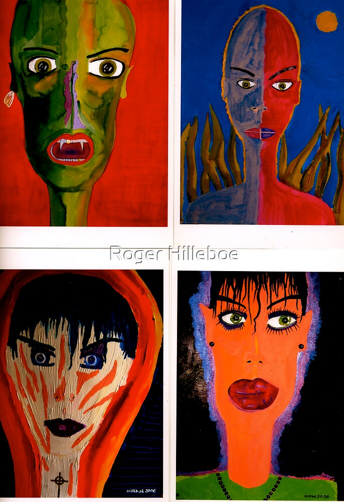 Four Friends by Roger Hilleboe