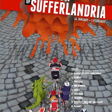 Tour of Sufferlandria 2015 by bvduck