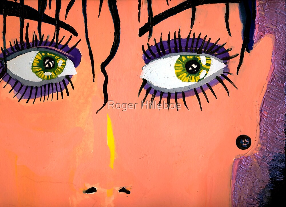 Megan's Eyes by Roger Hilleboe