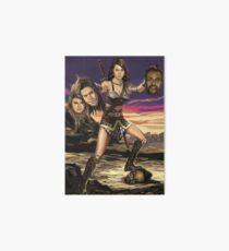 April Ludgate vs Black Eyed Peas Art Board