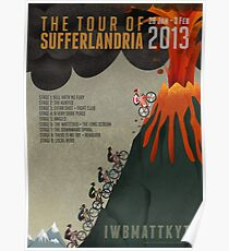 Tour of Sufferlandria 2013 Poster
