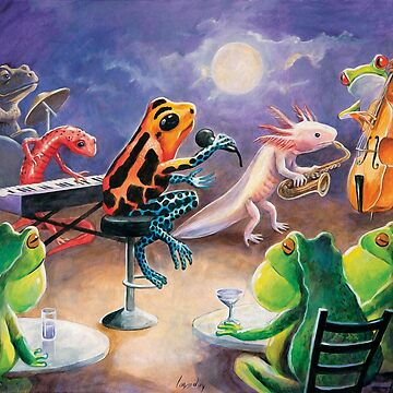 Salamander Jazz Ball Band 4 by DanielLoveday
