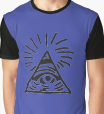 Illuminati Sign - Before the Storm - Life is Strange Graphic T-Shirt