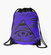 Mochila saco Letrero de Illuminati - Antes de la tormenta - La vida es extraña