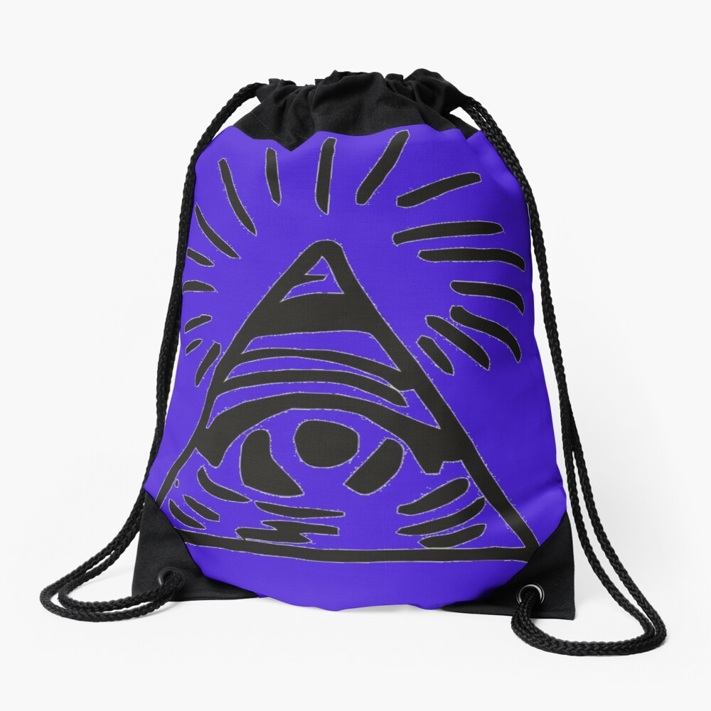 Letrero de Illuminati - Antes de la tormenta - La vida es extraña Mochila saco