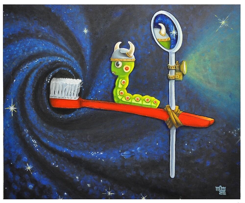 Space Cavity by Melanie Pople
