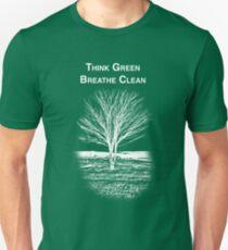 Tree Shirt (White Text/Image) Unisex T-Shirt